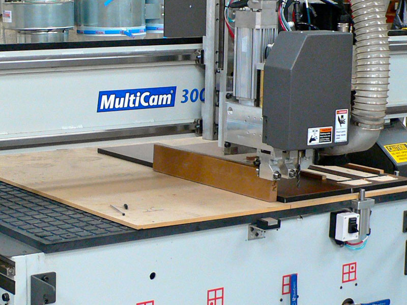 Kedel Limited CNC Services Multicam 3000 Flat bed CNC