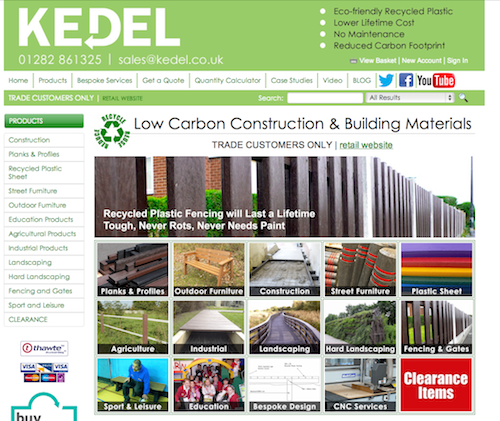 39 trade only 39 website to supply recycled plastic building for Plastic building materials