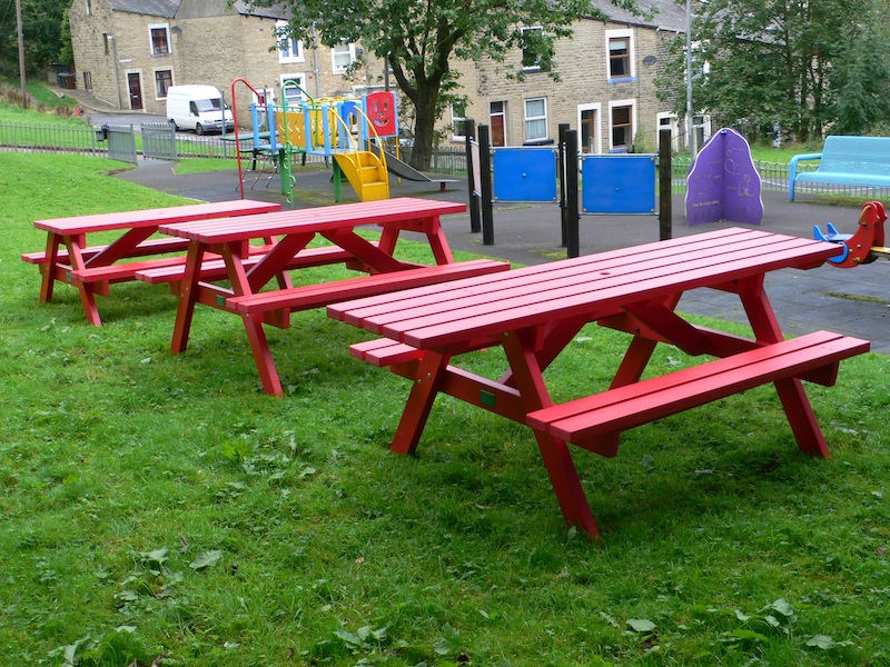 derwent recycled plastic picnic table picnic bench kedel
