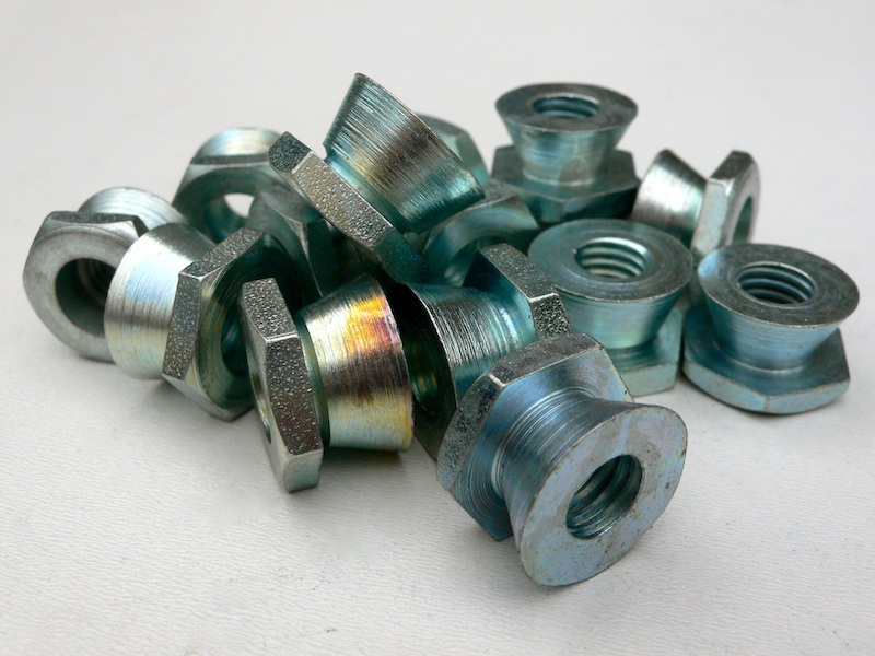 Pile of Steel Shear Nuts