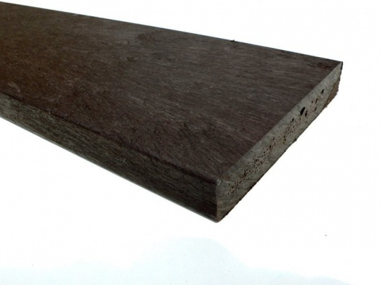 Recycled plastic lumber mixed plastic boards ultra for Recycled plastic decking