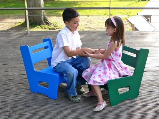 Kids Garden Chair | Recycled Plastic | Beipan