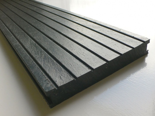 Recycled mixed plastic decking 195 x 28mm for Recycled decking boards
