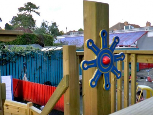 Pirate Ship Steering Wheel | Outdoor Play | Recycled Plastic HDPE