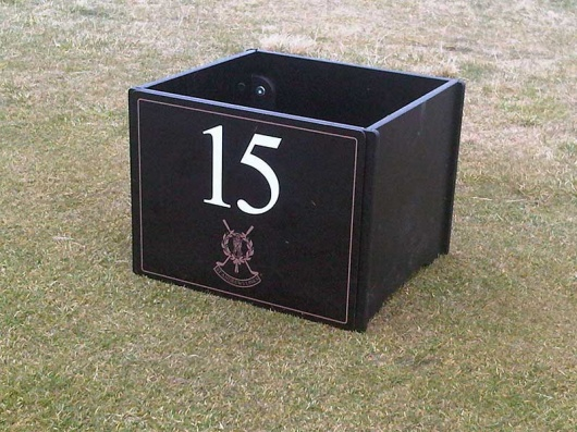 St Andrews Box | Waste Bin | HDPE Recycled Plastic