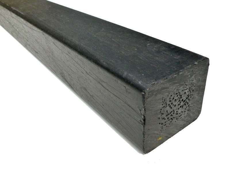Recycled plastic lumber mixed plastics 50 x 57mm x 1 for Recycled plastic decking