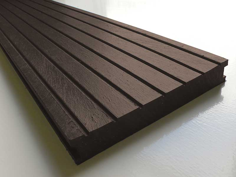 Large Deck Boards ~ Recycled mixed plastic decking mm