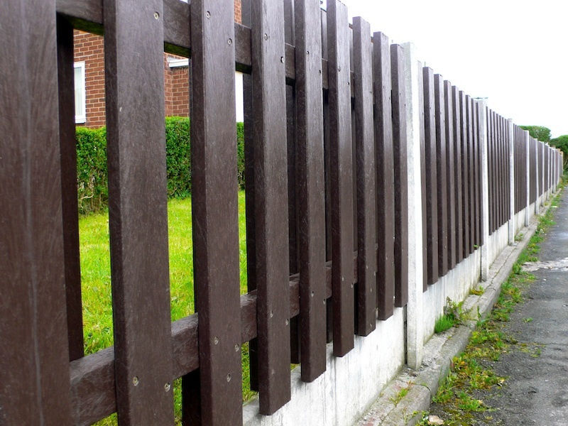 Garden Fence Panel Recycled Plastic Heavy Duty Kedelcouk