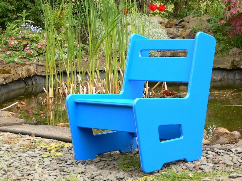 Childrens Kids Garden Chair Recycled Plastic