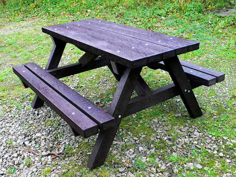 Ribble Picnic Table Recycled Plastic