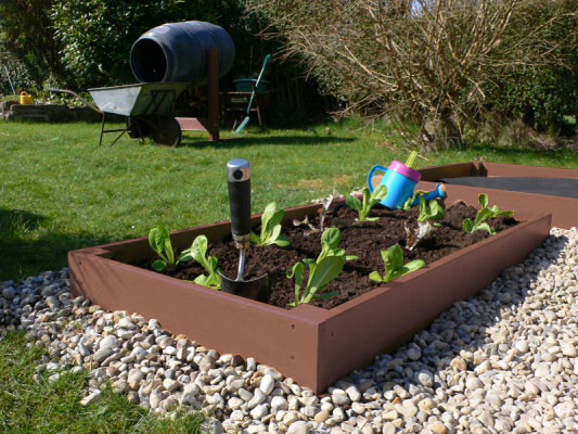 Plastic Wood Raised Bed | Recycled Plastic