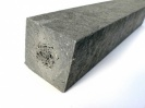 Recycled Mixed Plastic Square Post with Point 90mm x 90mm