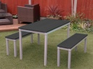 Colour: Black Tops,  Assembly Type: Adult, Age 14+ Table (H)760mm - Seat (H)460mm