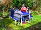Colour: Blue Tops,  Assembly Type: Adult, Age 14+ Table (H)760mm - Seat (H)460mm