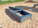 Colour: Grey/Blue,  Dimensions: (L)2850 x (W)1050 x (H)300mm
