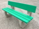 Colour: Green Slats / White legs