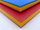 HDPE Sheet - Sandwich Colours