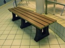 Recycled Plastic Bench | Tyne Sports Bench