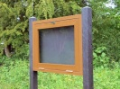 Recycled Plastic Information Stand | Notice Board