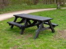 Recycled Plastic Picnic Table | Wheelchair Access | Ribble