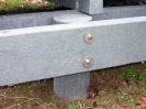 Recycled Mixed Plastic Piles | Support Posts 250mm dia