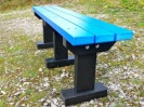 Colour: Blue Slats/Black Legs