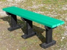 Colour: Green Slats/Black Legs