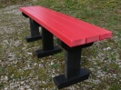 Colour: Red Slats/Black Legs