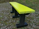 Colour: Yellow Slats/Black Legs