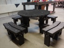 Colour: Black,  Type: Junior, Age 8-11 Table (H)640mm - Seat (H)380mm