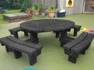 Colour: Black,  Type: Nursery, Age 3-4 years - Table (H)460mm - Seat (H)260mm