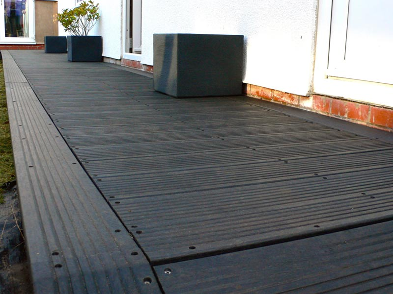 Recycled Plastic Marine Decking from Kedel