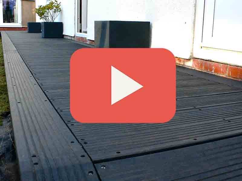 Recycled plastic decking composite wood material for 3m composite decking boards