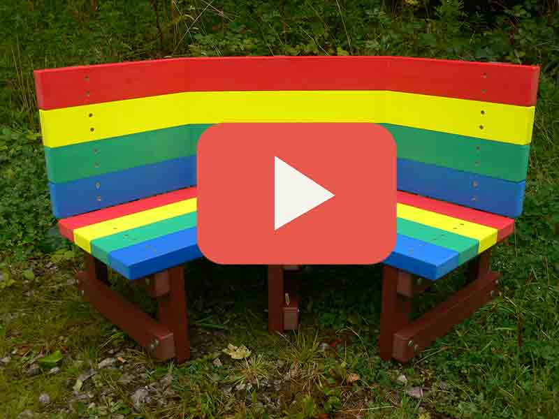 Buddy Bench Play Button
