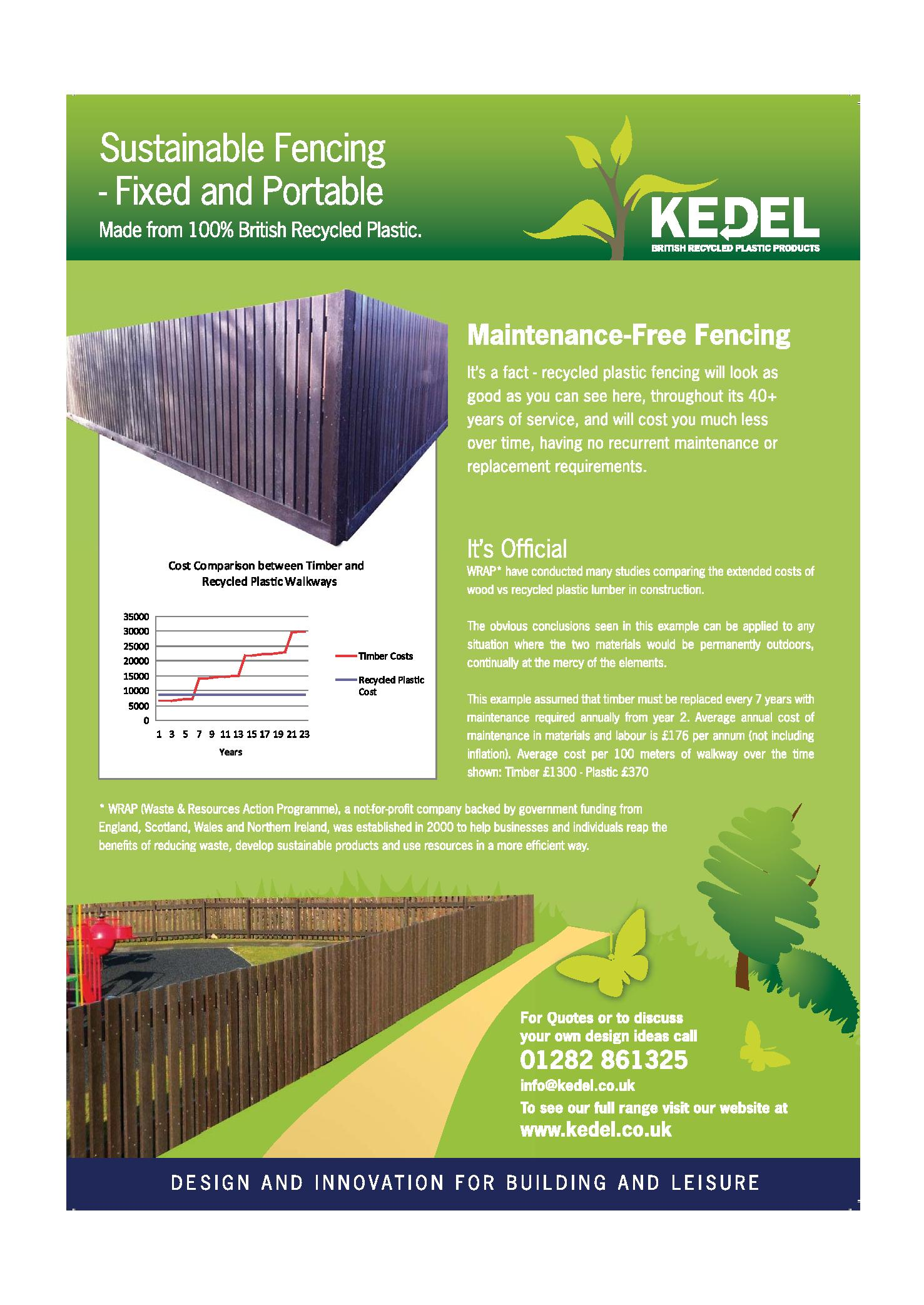 Fencing key advantages leaflet