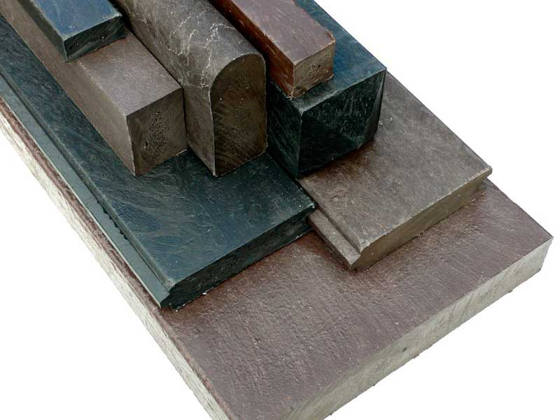 Recycled Plastic Lumber Group of Profiles
