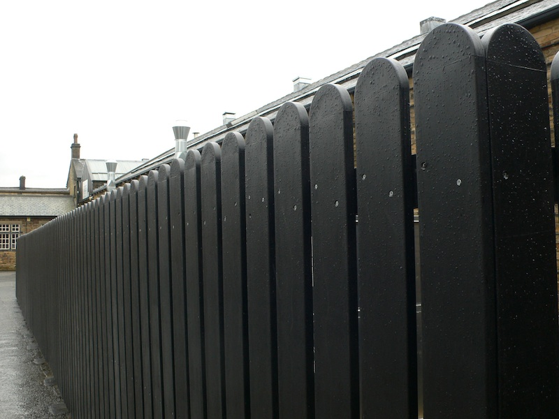 Recycled Plastic Post And Rail Fencing Versa Street