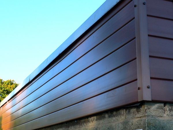recycled plastic v cladding panels