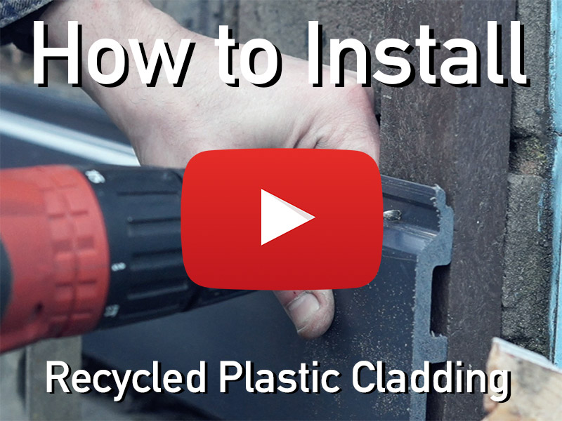 how to install kedel recycled plastic cladding tutorial video
