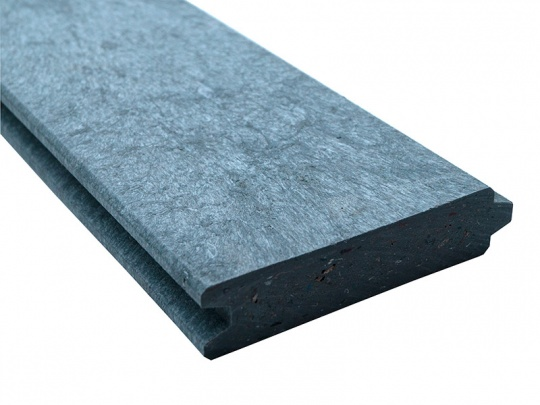 Recycled Mixed Plastic Tongue & Groove Plank/Board | 125 x 30mm