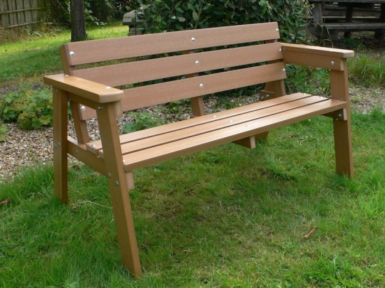 Plastic Bench 3 Seater