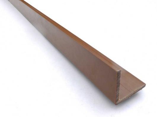 Cladding Corner Trim 45 X 45mm Recycled Plastic Wood