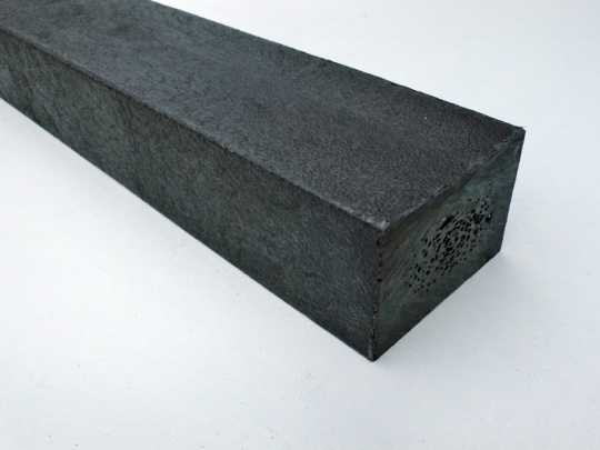 Recycled Plastic Lumber - Mixed Plastics - 75 x 50mm