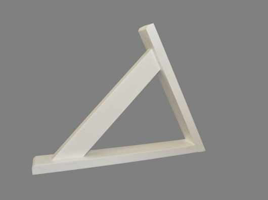 Pair of Angled Porch Gallows Brackets | Synthetic Wood