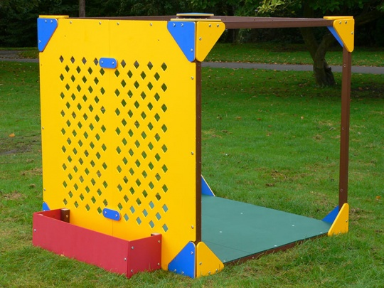Cube Play Den Trellis and Planter Module