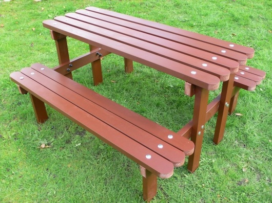 Junior Picnic Table | Decking Style | Recycled Plastic Wood