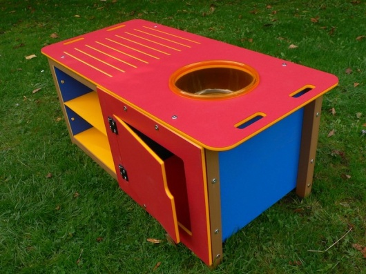 Outdoor Kitchen Play Sink Unit | Double size | HDPE
