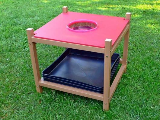 Children's Gardening Exploration Table - Sink Module