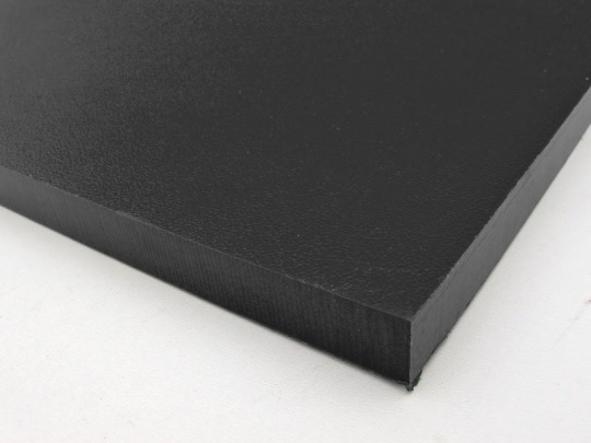 HDPE sheet | Recycled Plastic | Black 12mm thick