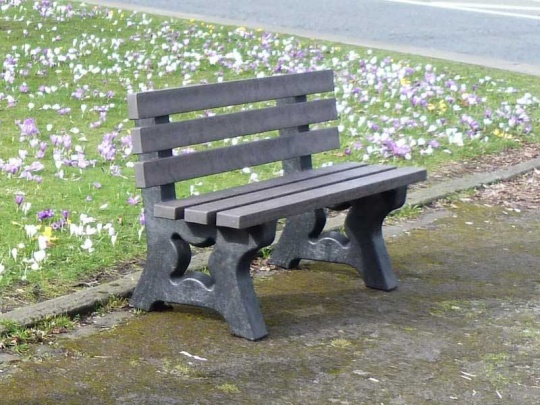 Irwell 2 Seater Recycled Plastic Garden Bench